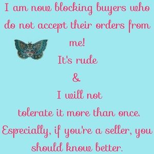 Other - BUYER'S READ this please.